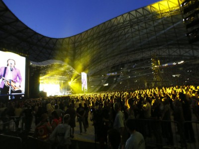 Concert Orange Vélodrome